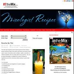 Ponche De Tiki - in the Mix Magazine