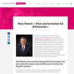 Marc Poncin: «Pour une formation 4.0 différenciée»
