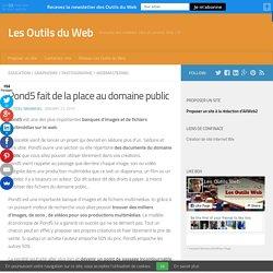 Pond5 fait de la place au domaine public - Les Outils Web