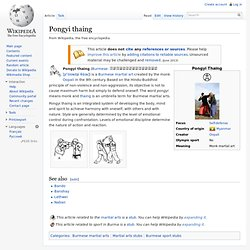 Pongyi thaing