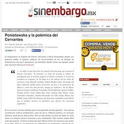 Poniatowska y la polémica del Cervantes