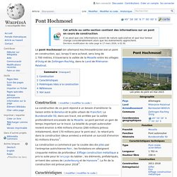 Pont Hochmosel