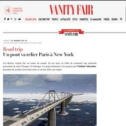 Un pont va relier Paris à New York dans le futur