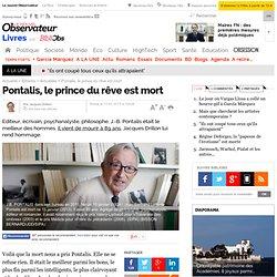 Pontalis, prince du rêve