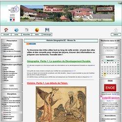 Collège André Malraux - Pontarlier (Doubs) - Histoire Géographie EC - Niveau 5e