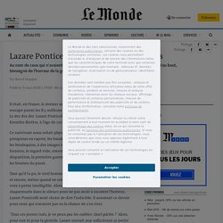 Lazare Ponticelli, le dernier poilu français
