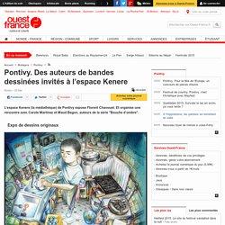 Pontivy. Des auteurs de bandes dessinées invités à l'espace Kenere