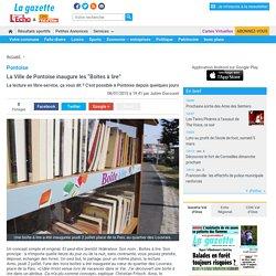"""Pontoise. La Ville de Pontoise inaugure les """"Boîtes à lire"""""""