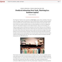 Pookie & Sebastian New York, Thriving in a Fashion Capital