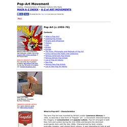 Pop Art: History, Characteristics