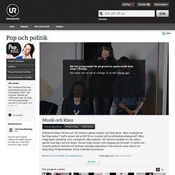 Pop och politik: Musik och klass