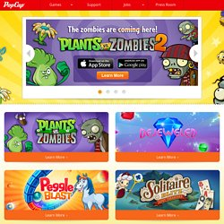 PopCap Games - Home of the World's Best Free Online Games
