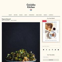 Popcorn Broccoli - Golubka Kitchen