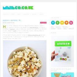 popcorn + sprinkles = ♥