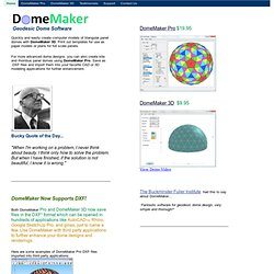 Dome Software and Resources