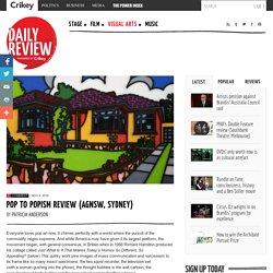Pop to Popism review (AGNSW, Sydney)