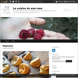 Popovers - La cuisine de sam-sam