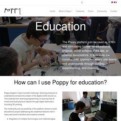 Poppy pour l'éducation