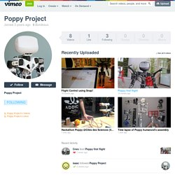 Poppy Project on Vimeo