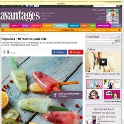 Popsicles: 10 recettes pour l'été