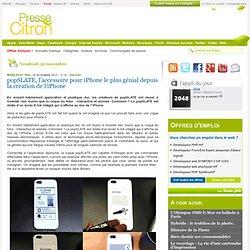 popSLATE, la coque pour iPhone la plus géniale depuis l'iPhone