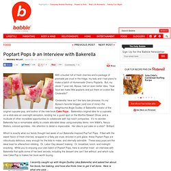 Poptarts-on-a-Stick and Bakerella's New Book