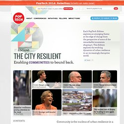 E4 The City Resilient