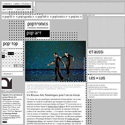 Un Réseau Arts Numériques pour l'art en réseau
