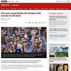 Por que a população do Uruguai não cresce há 30 anos