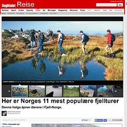 Her er Norges 11 mest populære fjellturer - tema