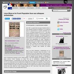 Léon Blum et le Front Populaire face aux attaques antisémites