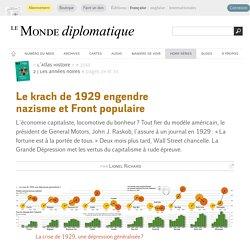Le krach de 1929 engendre nazisme et Front populaire, par Lionel Richard (Le Monde diplomatique, 2010)