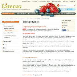 Extenso | Mythes alimentaires - Shiretoko
