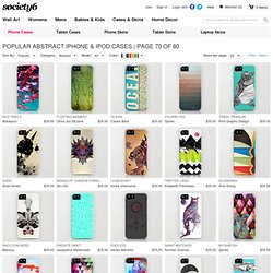 Popular Abstract iPhone Cases