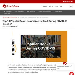 Top 10 Popular Books on Amazon to Read During COVID-19 Isolation