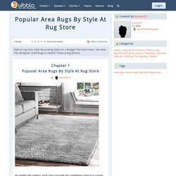 Popular Area Rugs By Style At Rug Store