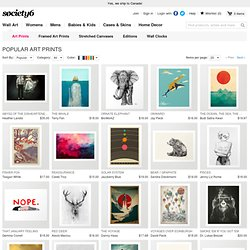 Society6 Artists Art Prints