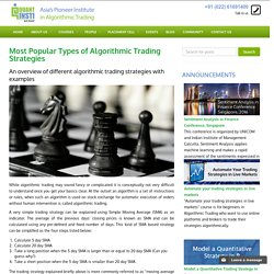 Popular Types of Automated Trading Strategies