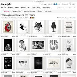 Black & White Art Prints