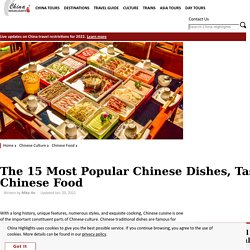 The 15 Most Popular Chinese Dishes, Tasty Chinese Food