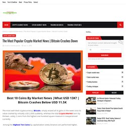 The Most Popular Crypto Market News