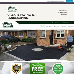 5 Most Popular Types of Driveway Paving Options – O'leary Paving & Landscaping