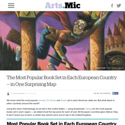 The Most Popular Book Set in Each European Country — in One Surprising Map