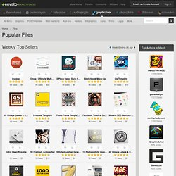 Popular Files - GraphicRiver