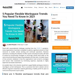 5 Popular Flexible Workspace Trends You Need To Know In 2021