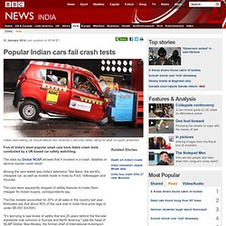 Popular Indian cars fail crash tests