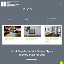 Most Popular Interior Design Styles in Every State for 2019