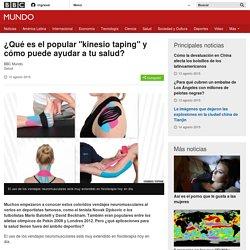 """¿Qué es el popular """"kinesio taping"""" y cómo puede ayudar a tu salud? - BBC Mundo"""