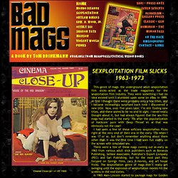 BAD MAGS :: The Flip-Side of Popular Culture As Seen Through Magazines and Tabloids!