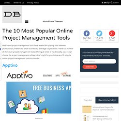 The 10 Most Popular Online Project Management Tools